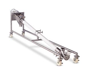 江西树脂柔性螺旋输送机的用途和特点 上海璞拓工业技术供应
