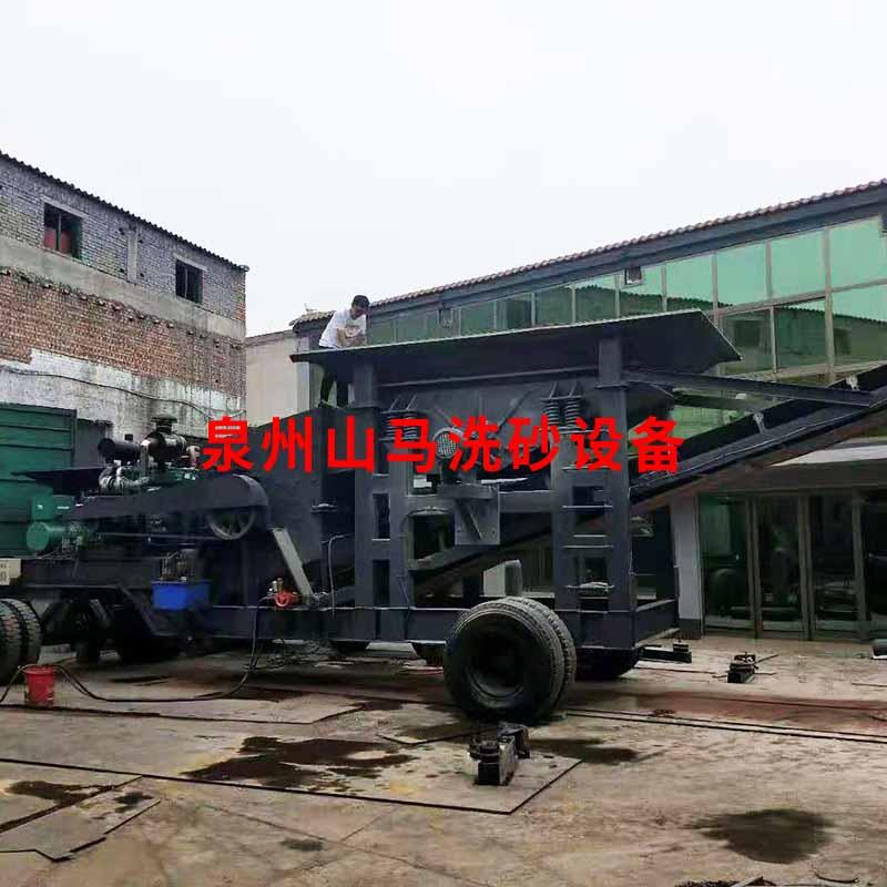 福建移动破碎机生产厂家 欢迎咨询 泉州市山马机械供应