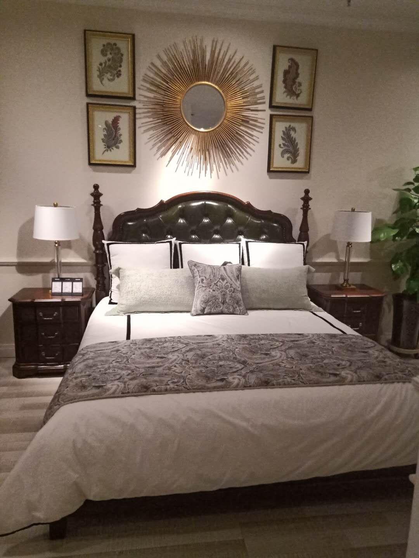 精河美式床销售价格,床