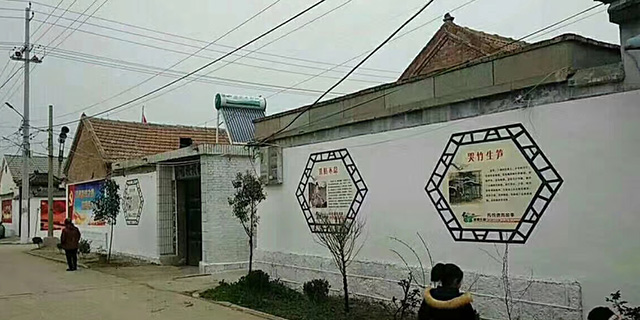 淄川户外墙体彩绘制作,彩绘