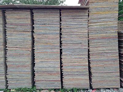 宿州工地二手木板 欢迎咨询 合肥戎淼建材供应