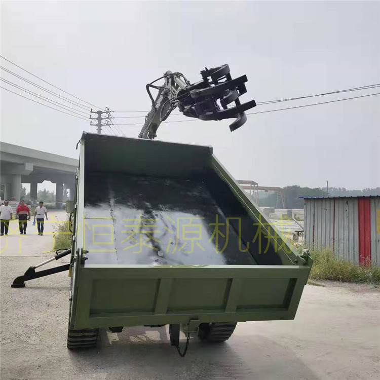 廣西橡膠履帶抓木機 創新服務 濟寧市恒泰源工程機械供應