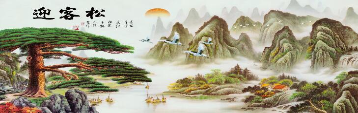 黑龙江企业迎门高清壁画生产厂家