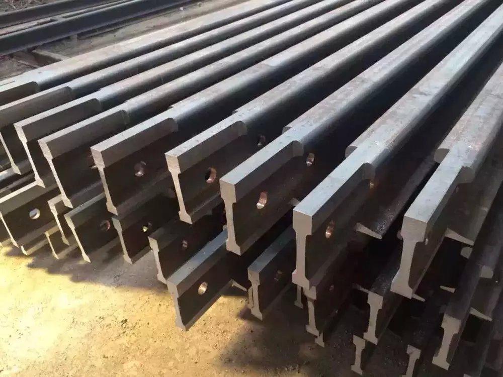 新疆铁标钢轨加工 乌鲁木齐鑫圣龙钢材供应