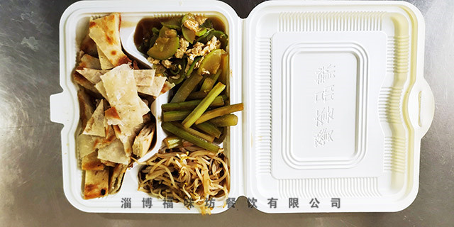 淄博展会快餐配送,快餐