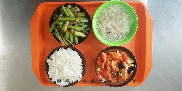 小庄附近团体盒饭价格 福味坊餐饮供应