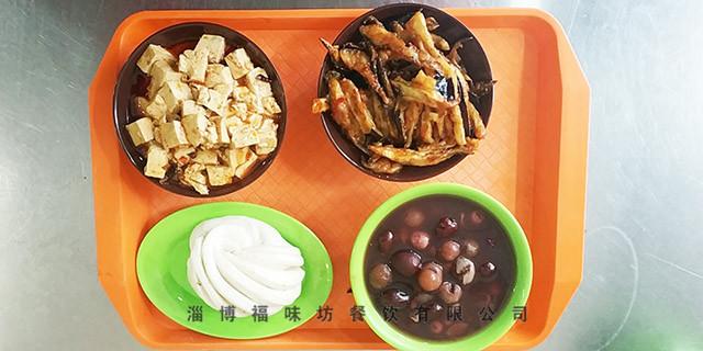 高新区企业盒饭配送 福味坊餐饮供应