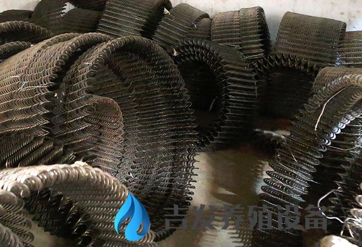 江苏螺旋弹簧绞龙批发 创新服务 临沂市兰山区吉发养殖设备供应