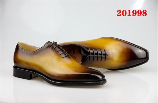 淄博高级皮鞋定制品牌 推荐咨询「柏高米蘭供」