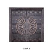 奉贤区法院铜门供应,铜门