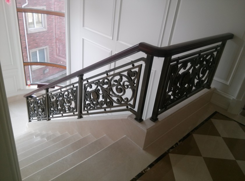 上海铜艺楼梯要多少钱 上海普孜铜制品供应