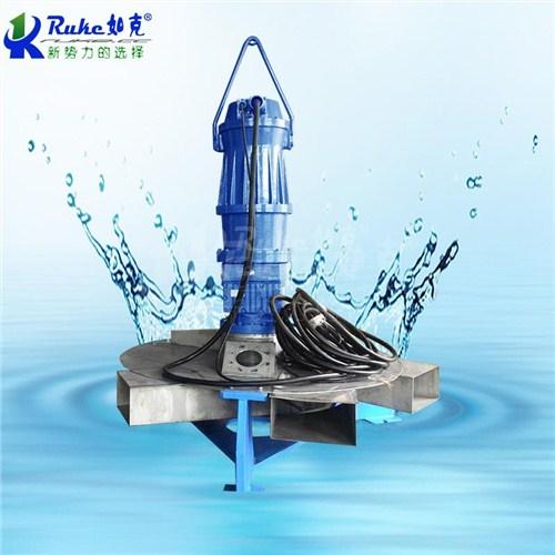 江苏推流式潜水曝气机哪家好 欢迎咨询 江苏如克环保设备供应