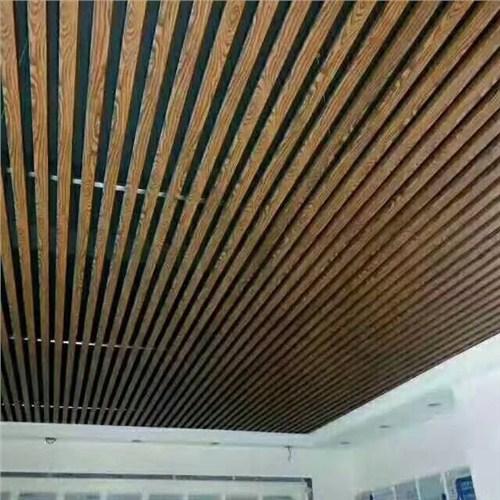 滁州各种规格铝方通吊顶生产厂家 诚信互利 蚌埠经济开发区三维扣板广告材料供应