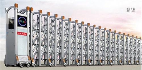 凤阳遥控电动伸缩门供应商 值得信赖 蚌埠市宏润门窗供应