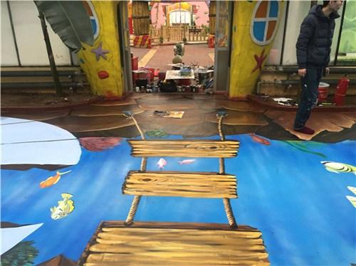 鹤壁幼儿园彩绘施工 值得信赖 河南文彩装饰工程供应