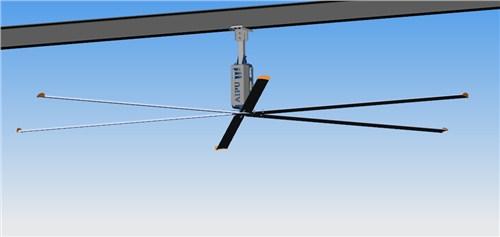 北京4米直径省电,5米节能吊扇工业大风扇哪家好 信息推荐 上海爱朴环保科技供应