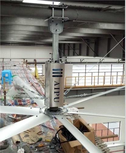 四川商业直流永磁大吊扇厂房降温吊扇哪家好 值得信赖 上海爱朴环保科技供应
