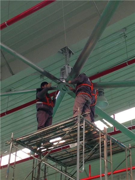 山西8.6米工业大型风扇工业风扇定制直流吊扇 值得信赖 上海爱朴环保科技供应
