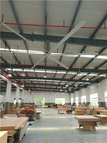 福建8米车间大吊扇大直径吊扇仓库降温风扇 服务为先 上海爱朴环保科技供应