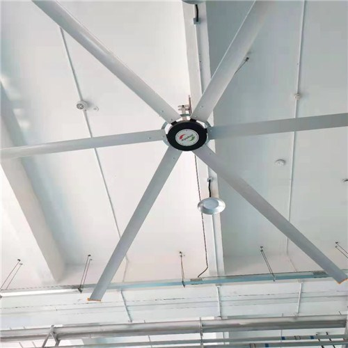 石家庄5米直径厂房降温吊扇高大厂房降温,厂房降温吊扇