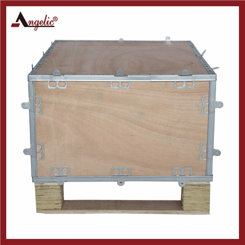 免熏蒸木箱定制 钢边箱采购 出口免熏蒸 安捷包装大量供应