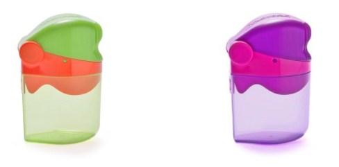 儿童零食便携杯儿童零食容器杯加工生产 北斗供