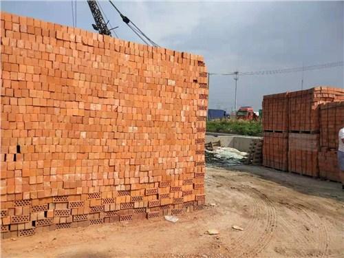 江苏优良红砖哪家专业 和谐共赢「北塘区捷盾建材商行供应」