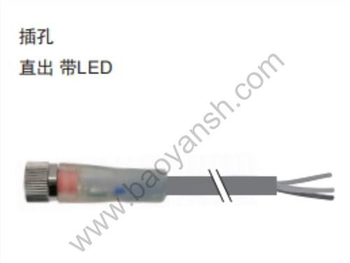 松江区原装M8圆形连接器性价比高 服务至上 上海宝岩电气系统供应