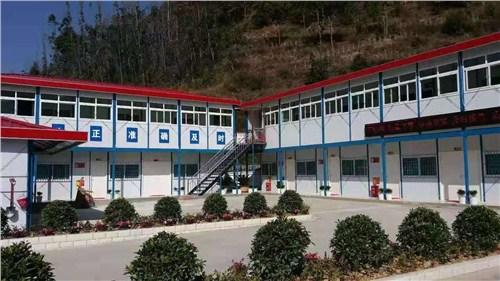 昆明活动房生产厂家 云南昆明诚锦轻钢活动房供应