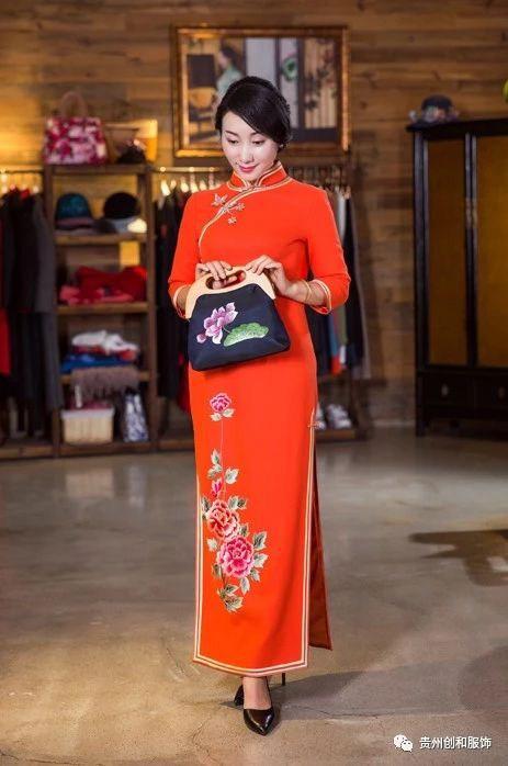 专业红旗袍质量放心可靠 承诺守信「贵州创和服饰供应」