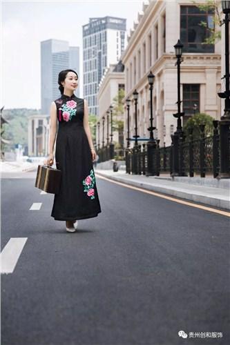 贵州专业绣花旗袍信赖推荐 值得信赖「贵州创和服饰供应」
