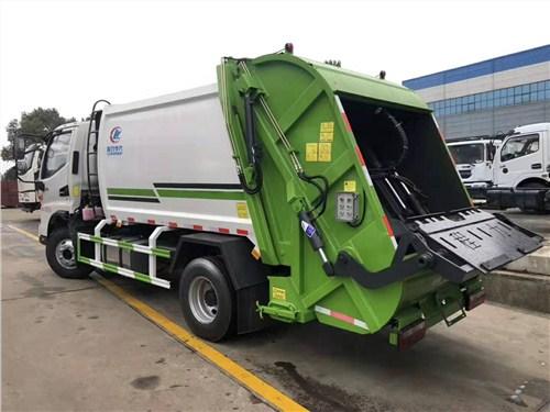 济南公路垃圾车说明书 程力专用汽车供应