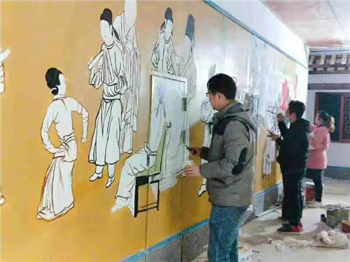 新洲区老师墙绘价格,墙绘