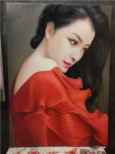 专业人物肖像 卓越服务「武汉市江岸区大智画廊供应」
