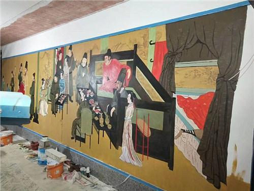 墙体彩绘销售 服务至上「武汉市江岸区大智画廊供应」
