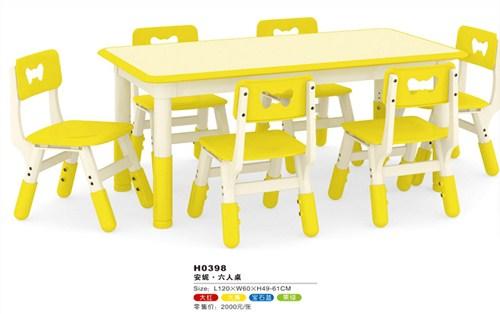 江汉区幼儿园桌椅尺寸 真诚推荐「武汉德力盛游乐设备供应」