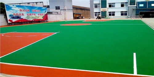 安徽硅PU网球场哪家好 湖北帝冠体育设施供应