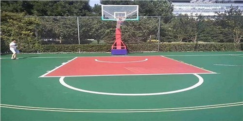 安徽無顆粒印花型塑膠跑道優選企業 湖北帝冠體育設施供應