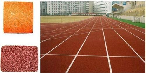 黑龙江全塑型塑胶跑道推荐 湖北帝冠体育设施供应