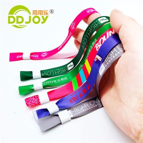缎带织带手环缎带织带手腕带缎带织带识别带 上海鼎霸带带乐供