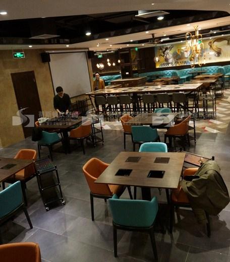南京商场火锅店设计装修报价,火锅店设计