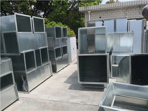 杨浦区防锈共板法兰风管生产线,共板法兰风管