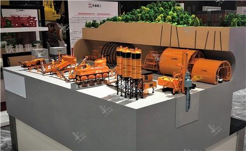 浙江原装施工场景模型,施工场景模型