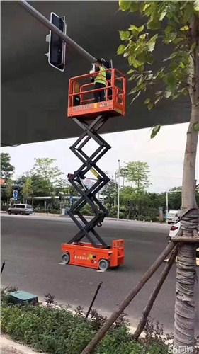 清江浦移动升降机作业车出租,升降机