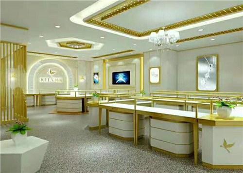西山区珠宝玻璃柜安装「昆明海扎家具展柜厂家供应」