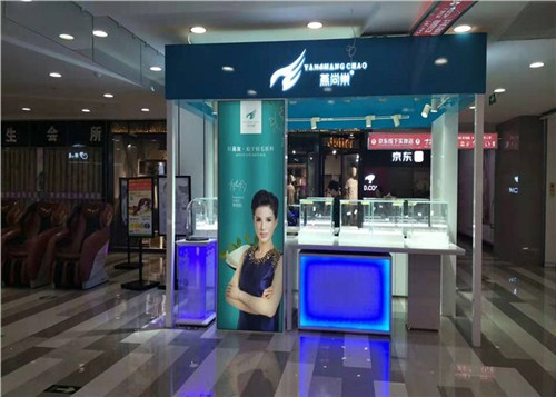 云南化妝品展柜訂做 云南海扎展柜廠