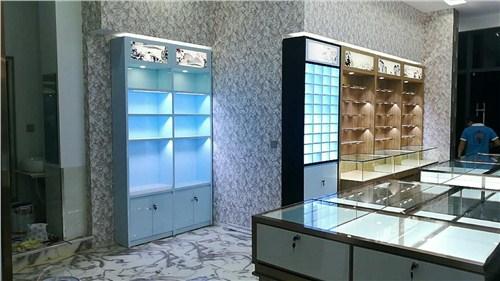 保山眼镜店玻璃柜「昆明海扎家具展柜厂家供应」