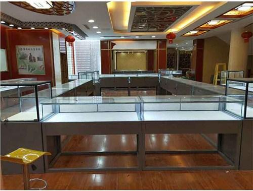 昆明产品柜台造价 云南海扎展柜厂