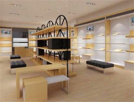 昆明鞋店展示柜定制 云南海扎展柜厂