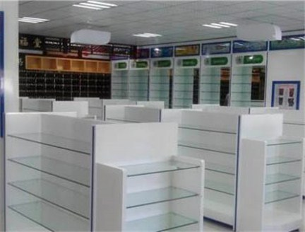 昆明中药展示柜设计安装 云南海扎家具供应